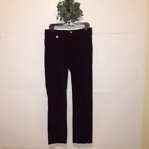 Lauren Ralph Lauren Black Velvet Pants